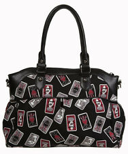 Banned Apparel Gothic Cards Third Eye Alternative Shoulder Bag w/Shoulder Strap