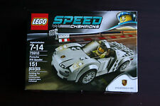 LEGO Speed Champions Porsche 918 Spyder 75910 NEW & SEALED Sports Car Driver