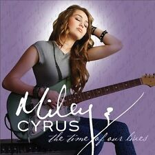 FREE US SH (int'l sh=$0-$3) NEW CD Miley Cyrus: Time of Our Lives