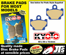 FRONT SET OF DISC BRAKE PADS TO SUIT YAMAHA XT600 XT 600 (84-86)