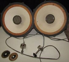 "LAFAYETTE SK-58 12"" SPEAKERS with TWEETER CONTROLLERS PAIR - Partly Tested"