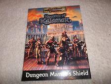 Kingdoms of Kalamar Dungeon Master Shield 3.5