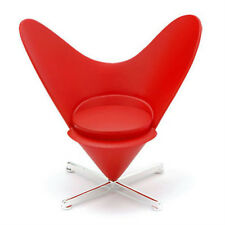 Reac Miniature Designers Chair for 1/12 figure Dollhouse RED HEART CP01-4