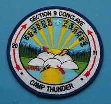 OA SECTION 9 CONCLAVE 2011 CAMP THUNDER     BOY SCOUTS  c5107