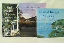 lot 3 The Most Beautiful Villages and Towns of the South, New England .paintings