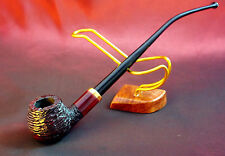 "Original Mr.Brog smoking pipe "" CHURCHWARDEN RED CARVED"" HAND MADE PERFECT GIFT"