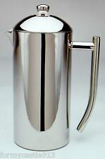 Frieling French Coffee Press Shiny 18/10 Stainless Steel 9 Cup 5 US cups 44 oz
