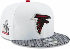 SUPER Bowl li Atlanta Falcons CAP BERRETTO NEW ERA TAGLIA UNICA Snapback