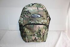 Multi Cam Green Brown Camo Backpack ESKY Brand 4 Pocket Hiking School Bag Style