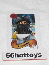 LEGO Pirates of the Caribbean Blackbeard Card NEW