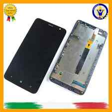 TOUCH SCREEN DIGITIZER VETRO DISPLAY LCD NOKIA LUMIA 1320 COMPLETO FRAME