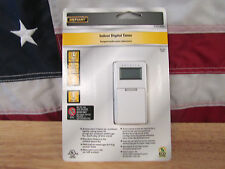 New DEFIANT INDOOR  Programmable DIGITAL TIMER 470 906 NIB Factory-Sealed