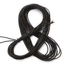 10m 1.5mm Fil Cordon Collier Bijoux Corde De Cheveux Elastique Forte Extensible