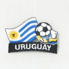 URUGUAY SOCCER FOOTBALL KICK COUNTRY FLAG EMBROIDERED IRON-ON PATCH CREST BADGE