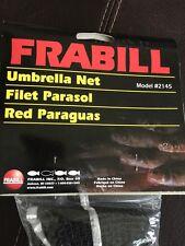 """New Frabill model 2145 Umbrella Drop Net - 40"""" x 40"""""""