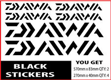 Daiwa Fishing Boat Sticker Decals Set