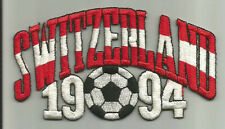 1994 World Cup Switzerland Stitched Iron-On Patch