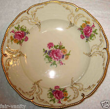 "Rosenthal Sanssouci Diplomat Ivory Gold Dinner Plate PERFECT 10.25"" US Zone 40s"