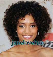 ladies Fashion wig Charm Women's short Brown Curly Natural Hair Classic wigs