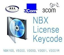NBX 100 Voice Mail Upgrade to 80H/12P From 30M/4P 3C10135 (9172)