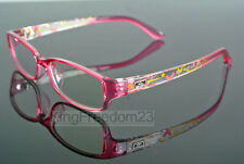 Child's Children Girl Boy Myopia Eyeglass Frame Transparent Pink Glasses Eyewear
