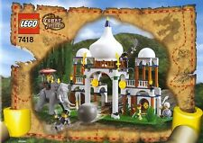 Lego Orient Expedition 7418 SCORPION PALACE New Sealed HTF