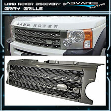 For: 05-09 Land Rover Discovery 3 Gray Grille Grill LR3 Brand New 05 06 07 08 09
