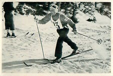 22. Kalle Heikkinen Finland Cross-country skiing OLYMPIC GAMES 1936 CARD