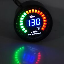 "2"" 52mm Digital 20 LED Exhaust Gas Temperature Gauge EGT for Car Truck HOTSYSTEM"