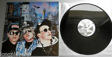 The Stupids - Van Stupid UK 1987 Vinyl Solution LP with 2 x Inserts