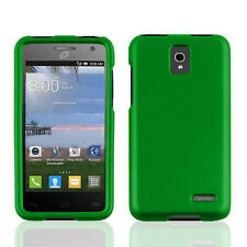 NEW FOR Alcatel One touch Pop Star Green 2-PC RUBBERIZED HARD SKIN COVER CASE