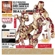 Kaiyodo Marvel Revoltech 049 SCI-FI IRON MAN 3 MARK XLII MK 42 Figure