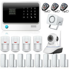 G90B WiFi GSM GPRS Home Office Burglar Alarm System + Wireless HD IP Camera