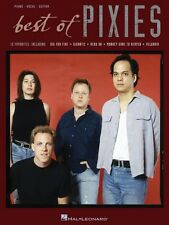 Best of Pixies Sheet Music Piano Vocal Guitar SongBook NEW 000306875