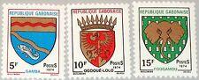 GABON GABUN 1974 523-25 321-23 City Coat of Arms Stadtwappen Wappen MNH