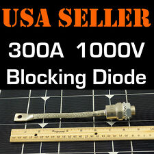300A 1000V BLOCKING DIODE WIND GENERATOR SOLAR PANEL 300 AMP PANELS TURBINE STUD