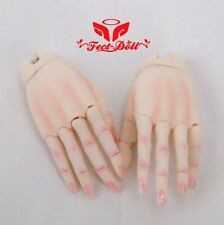1/4 Jointed Hands MSD FD BJD unisex hands mini super dollfie FECT Free shipping