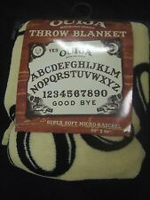 Nwt Ouija Board Mystifying Oracle Plush Raschel Fleece Throw Bed Blanket 50X60""