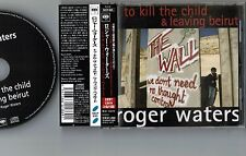 NM! PINK FLOYD-ROGER WATERS To Kill The Child JAPAN-ONLY CD w/OBI SICP-695 FreeS