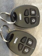 2x Replacement Keyfobs New Toad AI606 A201 Alarm Remote Control Plip Controller