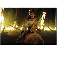 Eragon Sienna Guillory in White Dress and Large Sword 8 x 10 Inch Photo