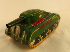 SFA France char Patton friction 8 cm en tôle ancienne rare