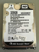 "2.5"" Western Digital Scorpio Black 320GB 7200RPM WD3200BEKT Internal HDD"