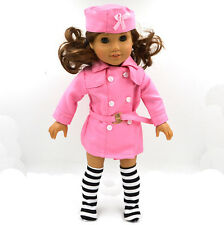 2016  fashion clothes dress for 18inch American girl doll party b91
