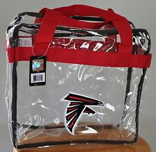 Atlanta Falcons CLEAR Messenger Tote Bag Purse - Meets Stadium Security Reqs
