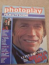 PHOTOPLAY MAGAZINE MOVIES TV AUGUST 1980 CLINT EASTWOOD ROBERT WAGNER