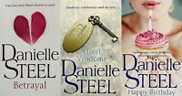 DANIELLE STEEL ____ 3 BOOK SET ____ BRAND NEW ____ FREEPOST UK ____ (SET 10)