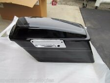 NEW OEM HARLEY DAVIDSON LEFT SIDE TRUNK SADDLE BAG TOUR PAK FLHTCUI VIVID BLACK