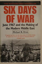Arab Israeli Six Days Of War June 1967 Making Modern Middle East Reference Book