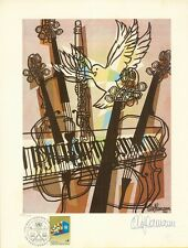 OLE HAMANN LIMITED ED HAND SIGNED & NUMBERED ART PRINT MUSIC #185/1000 WFUNA